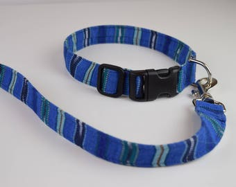Missoula Set, Dog Collar and Leash