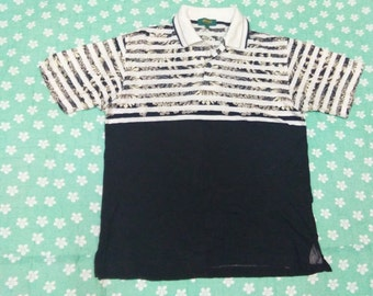 vintage KENZO GOLF polos shirt floral design size 3
