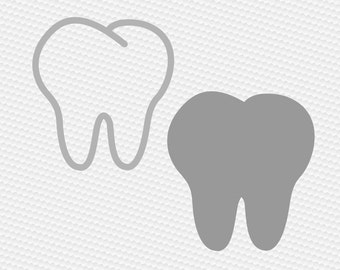 Dentist Tooth svg, Tooth svg, Tooth silhouette, Tooth fairy svg, Teeth svg, Dental svg, Dentist tooth svg, Cricut, Cameo, Svg, DXF, Png, Eps