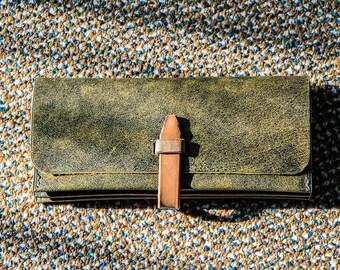 Women's wallet, The Roper Wallet, Leather Wallet, Card Holder, Long Wallet, Wallet, pocketbook, billfold, notecase,