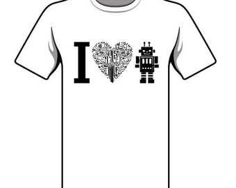 I <3 robot shirt fundraiser