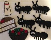 Five Hungry Ants - Children's Felt Story