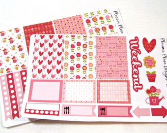Planner Stickers - Weekly Planner Stickers - Happy Planner Stickers - Day Designer - Functional Stickers - Mother's Day Stickers