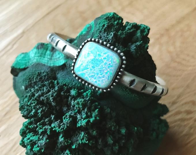 Monarch Opal Cuff Bracelet