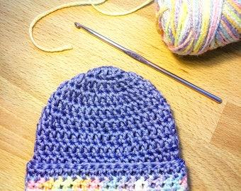 Crochet, crochet baby, Newborn Hat, baby hat, Baby Beanie, Baby fashion, baby girl gift, baby boy gift, new baby gift, baby shower, nursery