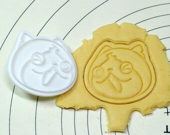 YoKai Watch Punipuni Cookie Cutter and Stamp
