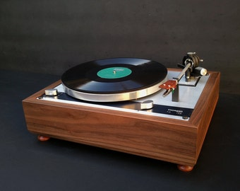 Walnut wood PLINTH for Thorens TD-145 / 160 turntable series