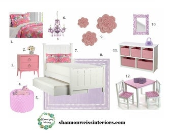 Kids Bedroom e-Design / Affordable Interior Design Services