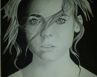 Girl canson 24 x 32