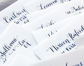 Calligraphy Envelope Addressing, Wedding Invitations,