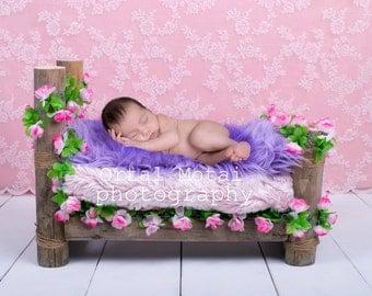 digital newborn backdrop, newborn photography prop, newborn prop,newborn digital bed, Digital download, newborn bed, newborn wood bed