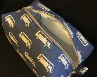VW Campervan Makeup / Wash Bag