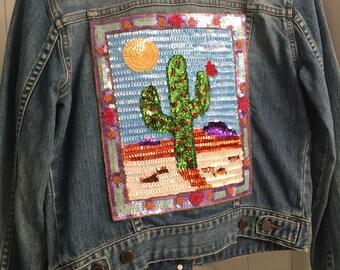 Denim Jacket : Desert Style