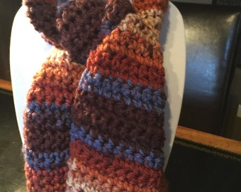 Super Soft and Ultra Warm Crochet Scarf