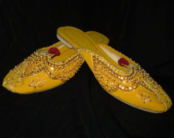 Royal Slippers Yellow