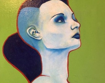 Acrylic Painting Original Art