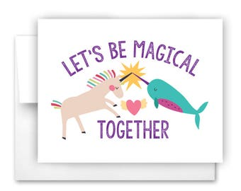 Magical Together Notecard