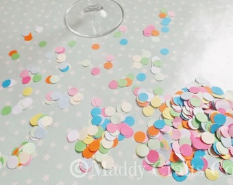 Multi Coloured Paper Table Confetti Embellishments Scrapbooking Party Decorations Paper Craft Supplies