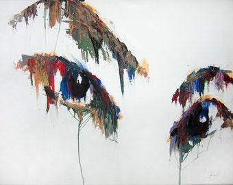 Custom Painting Art Print - Affliction