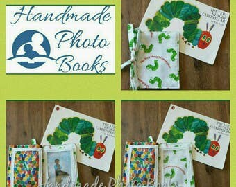 Fabric Photo Album/Book - The Hungry Caterpillar