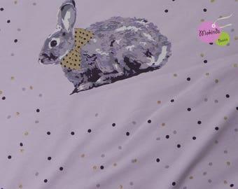 Lille material Bio Jersey Lapin rabbit Glitter