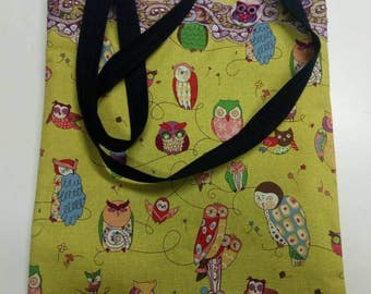 Angry Owls Shopper Bag