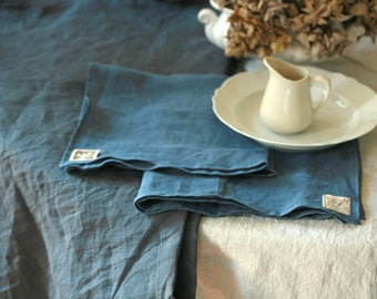 Linen table cloth,washed linen, various sizes and colors