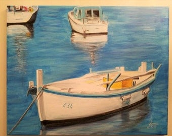 Boat in the Adriatic