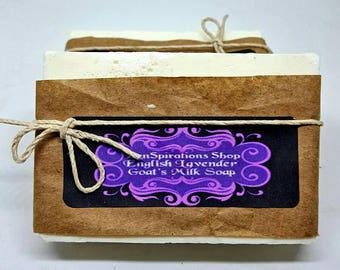 Goats Milk Soap: English Lavender