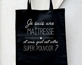 Master bag - gift master - teacher superpower - teacher gift