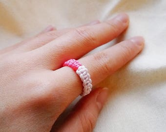Chinese Woven Ring, Kontted