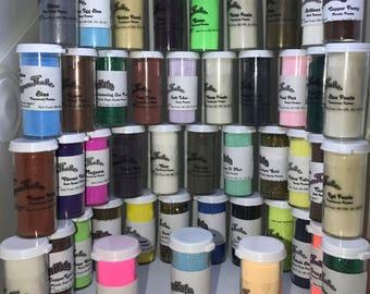 Embossing Powder by CopperKate - 44 color Lot Gift box - 0.6 ounce bottles