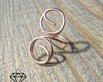 Copper Wire Ring 16ga. Custom Design