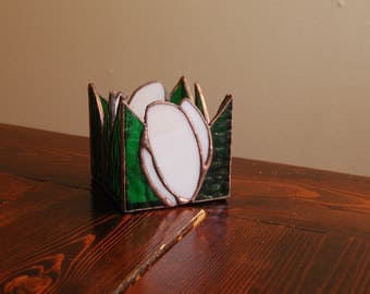 GRACE // Stained Glass Candle Holder