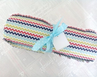 Primary Colored Crib Quilt/ Neutral/ Shower Gift/ Baby Boy/ Baby Girl/ Blanket/ Red, Blue and Green