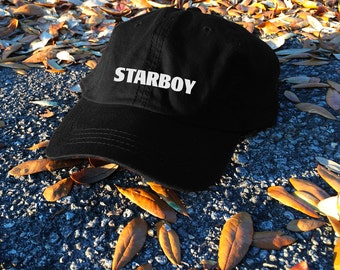 The Weeknd Starboy unisex hat - Yeezus Tour Gov Ball hat - Yeezy - The Real Life of Pablo Pop Up Store Saint Pablo