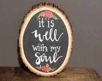 "Basswood ""It is well with my soul"""