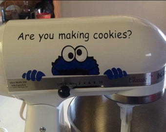 Cookie Monster Are you making cookies?
