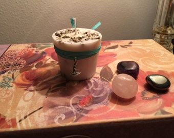 Sage Candle - Ritual Candle - Spell Candle - Witchcraft Candle - Altar Candle - Magick Candle