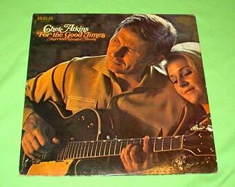 Chet Adkins for the good times original RCA record album vintage music