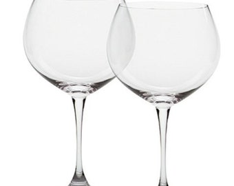 Waterford Wine Glasses / Robert Mondavi / Set of 2
