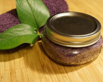 Exfoliating Lavender Scrub| Body Scrub| Epsom Salt Scrub|