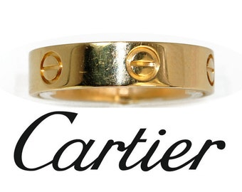 Cartier Love ring yellow gold 18K
