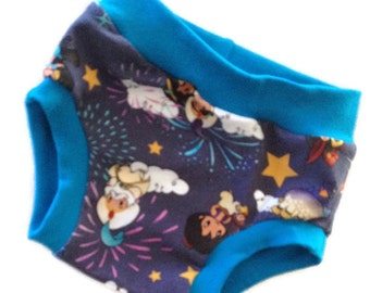 Aladdin Undies - Size 2/3 - Toddler Underwear - Ready to Ship - Scrundies