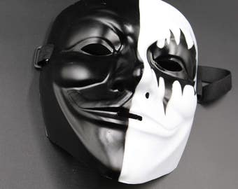 V for Vendetta Mask Anonymous Guy Fawkes Occupy Hallow Adult Costume cosplay
