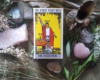 The Rider Waite Tarot (Three Spreads Available)