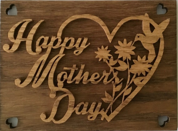 Mothers Day Gift, Mothers Day Art, Mothers Day Plaque, Gift for Mom, Gifts for Mom from Daughter, Mothers Day Sign, Happy Mothers day wood