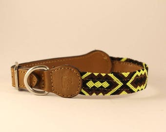 Bo Knitted Dog Collar (S)