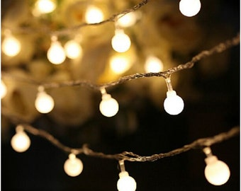 10 m (32.8 ft) LED Ball String Lights