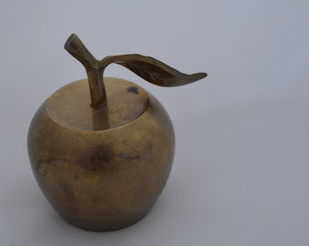 Brass Apple Shaped Bell
